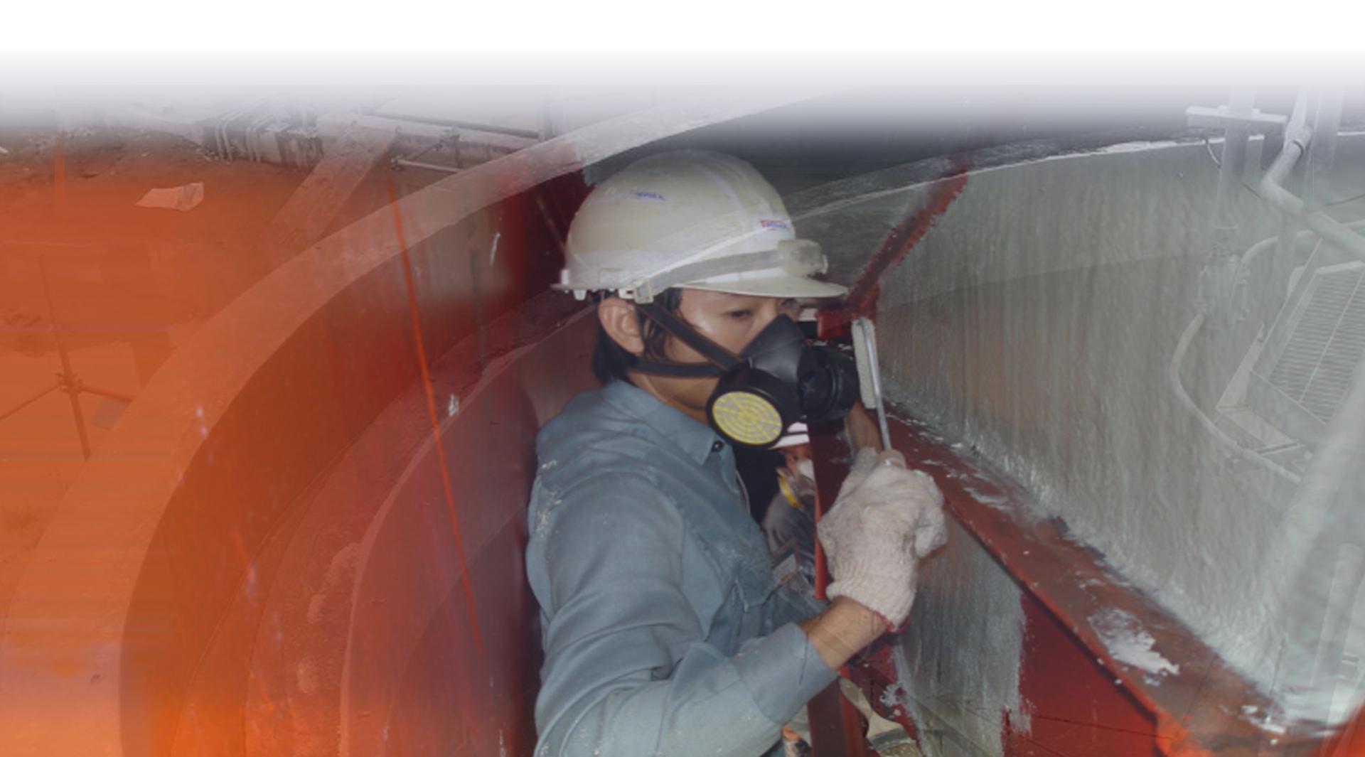 Polyurethane medium duty floor mortar system KERAGUARD ADG40