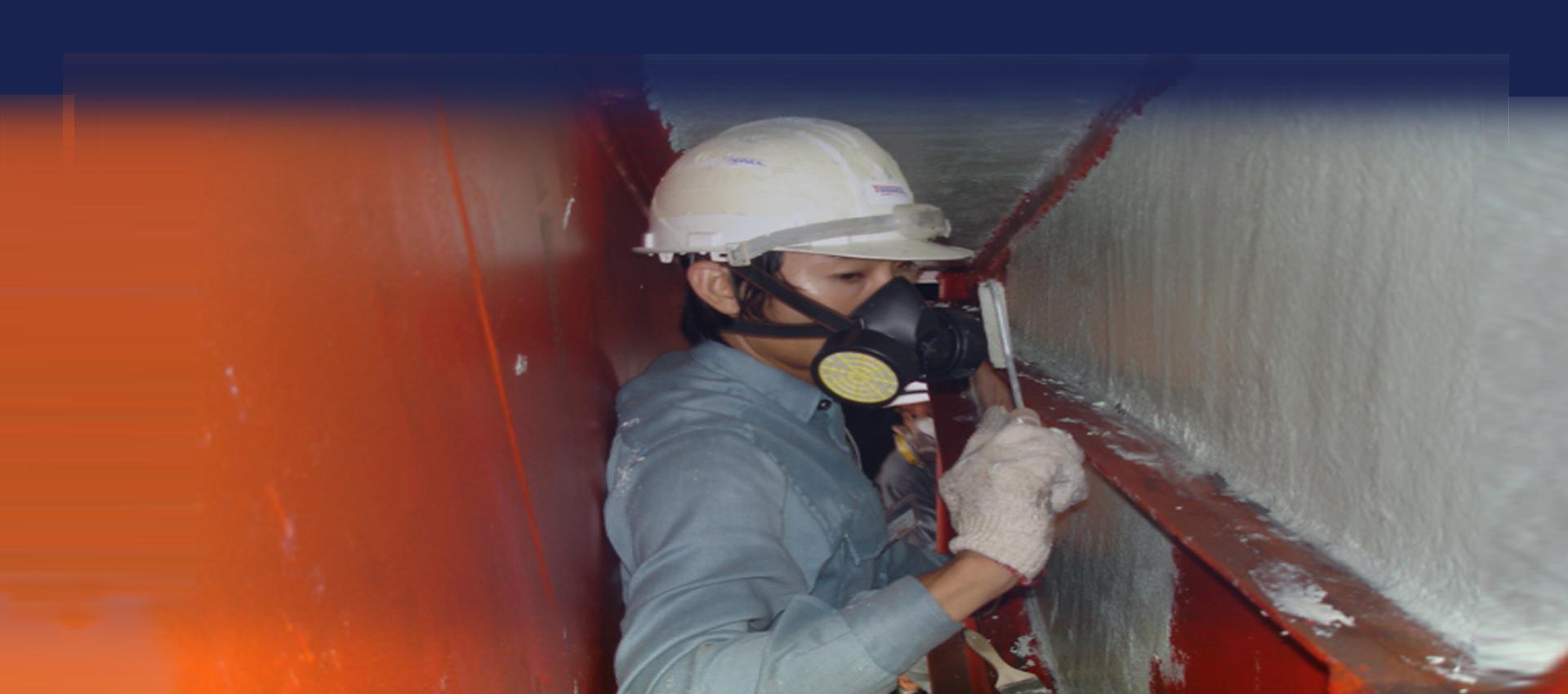 Vinyl ester heavy duty chemical resistant lining system KERAGUARD VR300