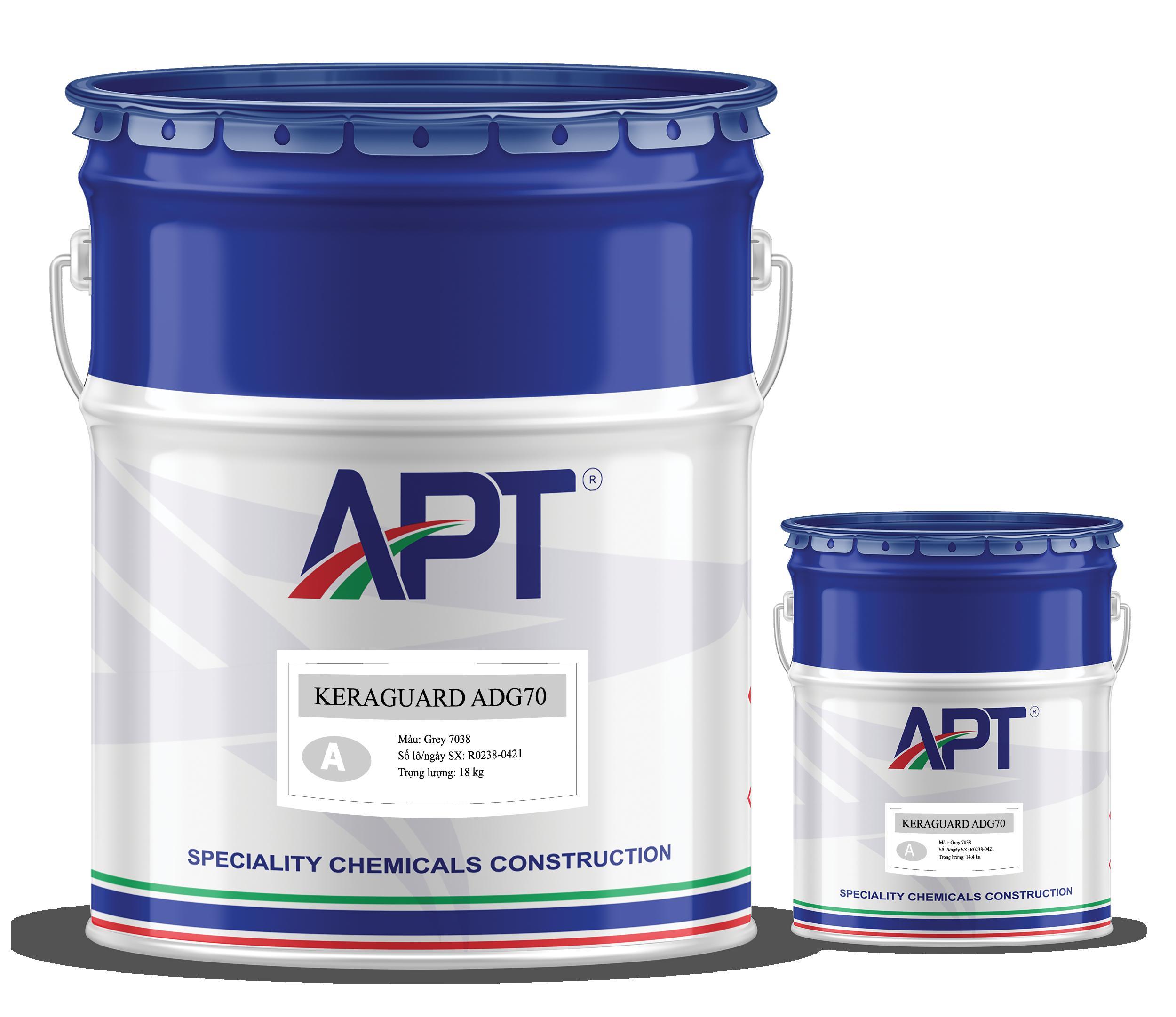 Chemical resistant coal tar epoxy coating KERAGUARD ADG70