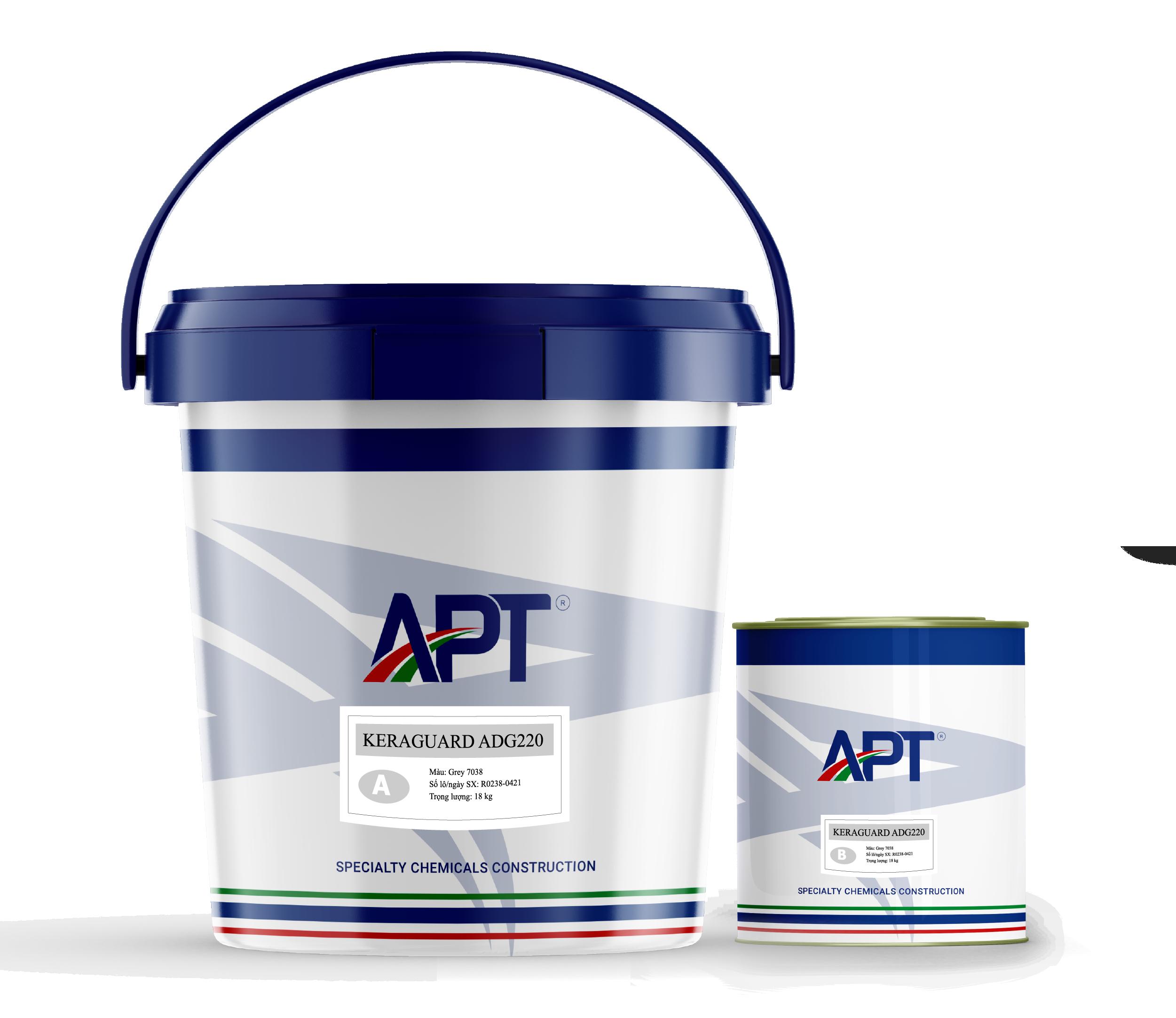Chemical resistant epoxy coating system KERAGUARD ADG220