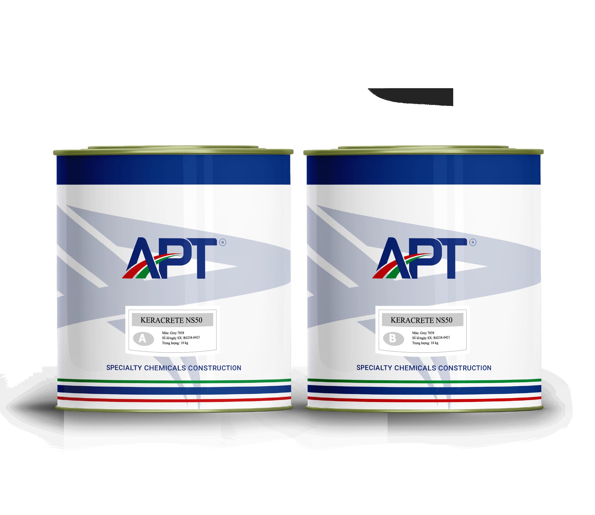 Non-sag epoxy adhesive & filling compound KERACRETE NS50