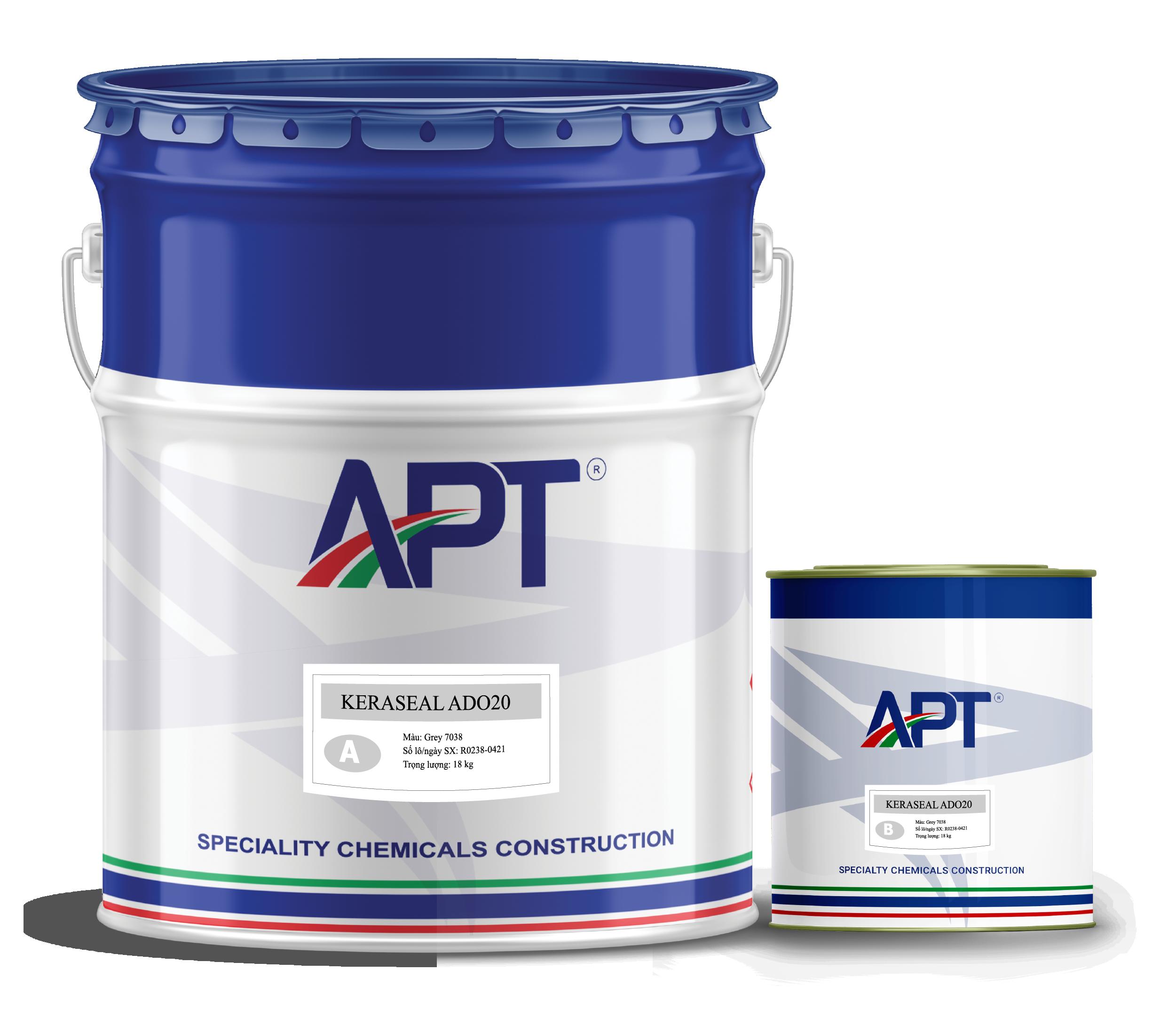 Solvent-based epoxy coating system KERASEAL ADO20