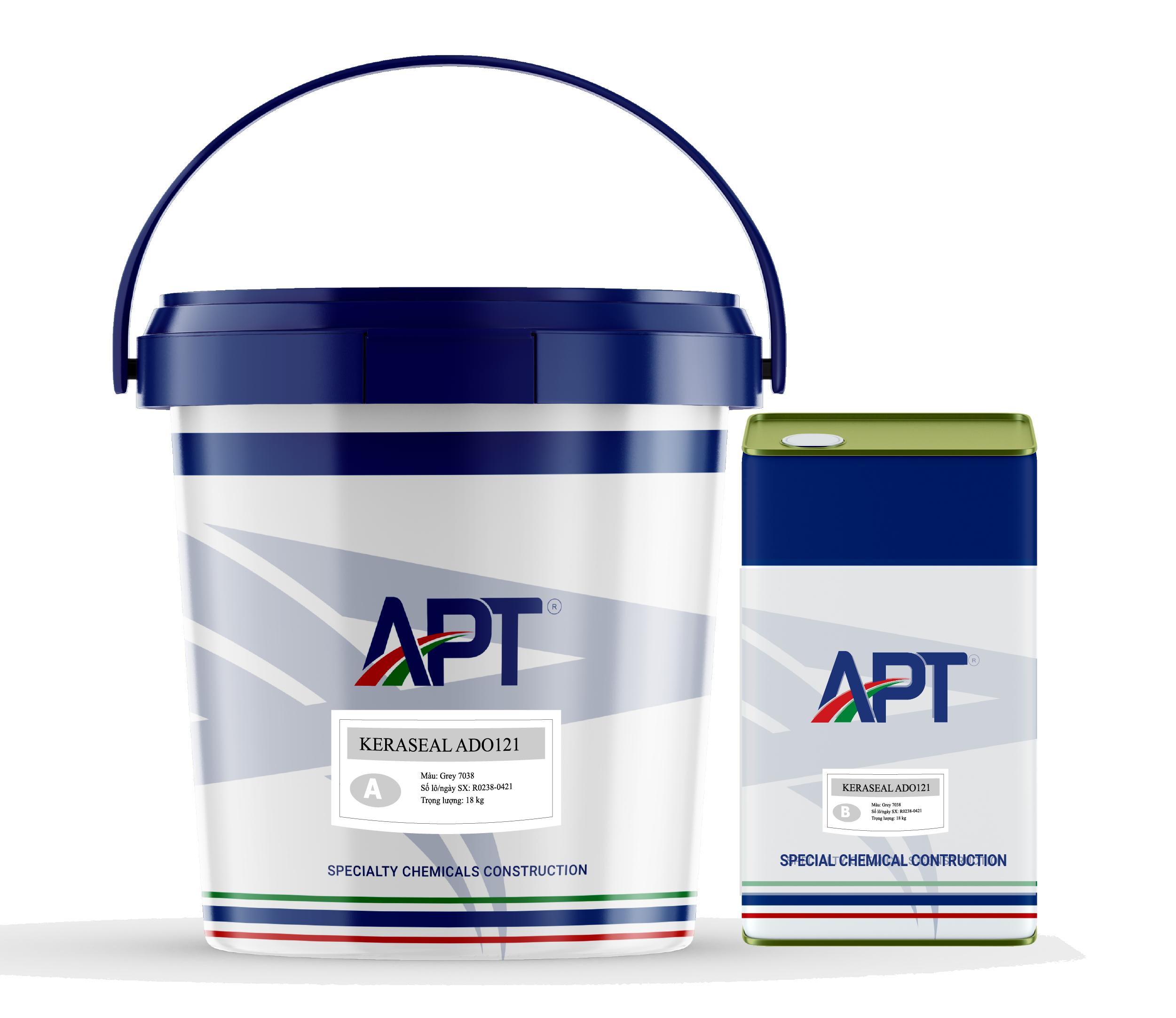 Solvent-free epoxy coating system KERASEAL ADO122