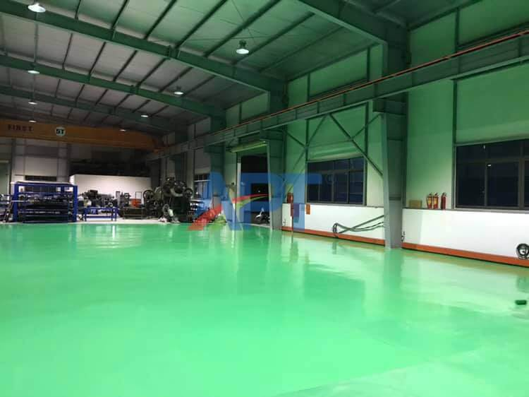 Application method of water-based epoxy paint KERASEAL WB20