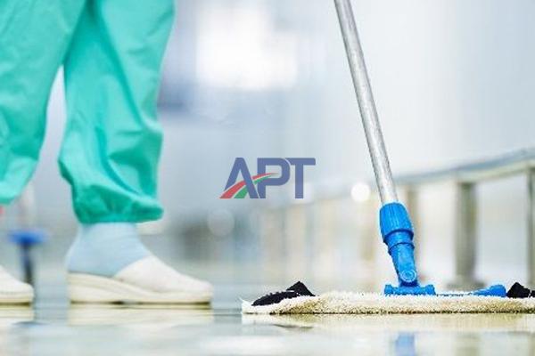 Bảo dưỡng sàn epoxy APT sau thi công